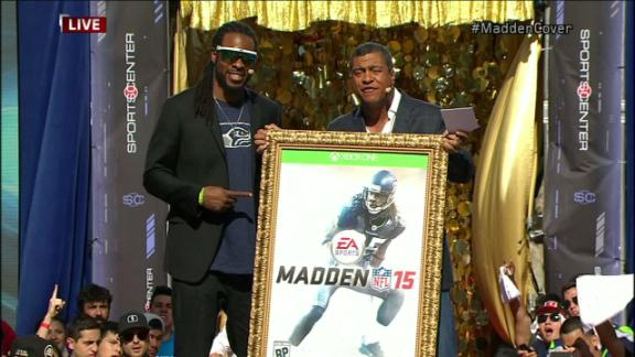 Sherman Humbled To Win Madden Cover Vote