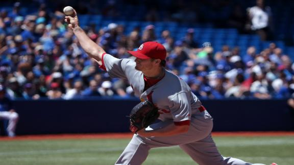 Shelby Miller Shuts Out BLue Jays