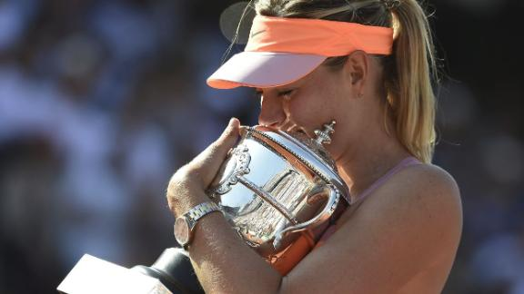 Sharapova Wins In Epic French Open Final