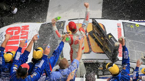 Dale Jr. Wins At Pocono