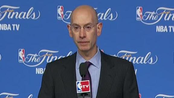 Adam Silver Gives Finals Address