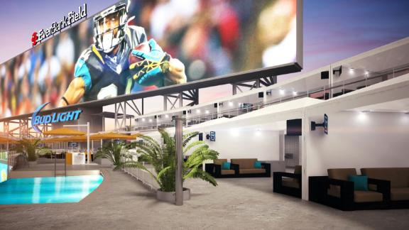 Jags To Offer Poolside Viewing At Games