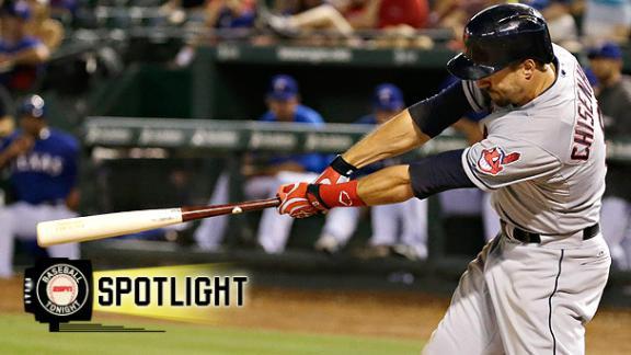 Chisenhall's 3-Home Run, 9-RBI Night