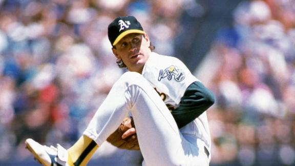 Former Athletics ace Welch dies at age of 57