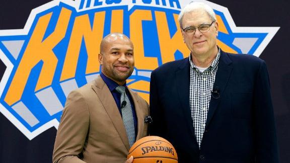 Fisher Introduced As Coach Of Knicks