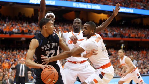 Syracuse-Georgetown Restart Rivalry