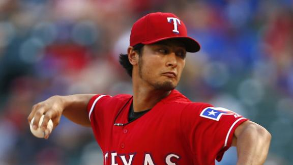 Darvish Tosses First Complete Game