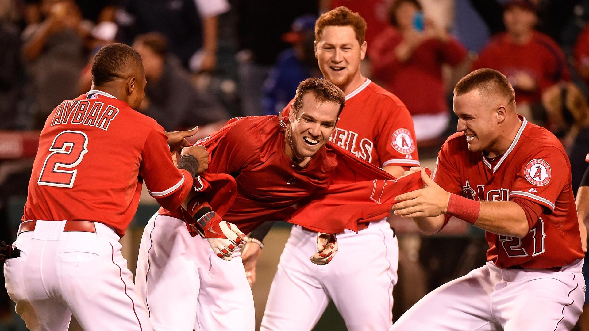 Angels Walk Off With Win