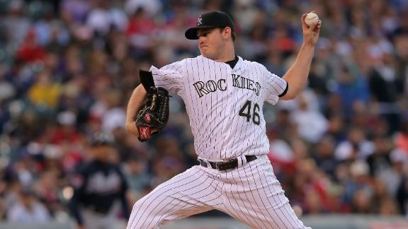 Rockies' Matzek shines vs. Braves in debut