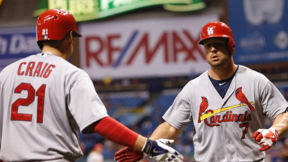 Cardinals Shut Down Rays