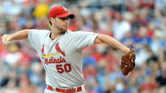 Cards' Wainwright Has MRI, No Damage Revealed