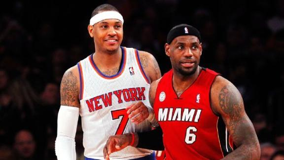 LeBron And Carmelo Together?