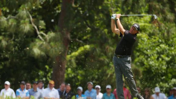Mickelson On Even-Par First Round