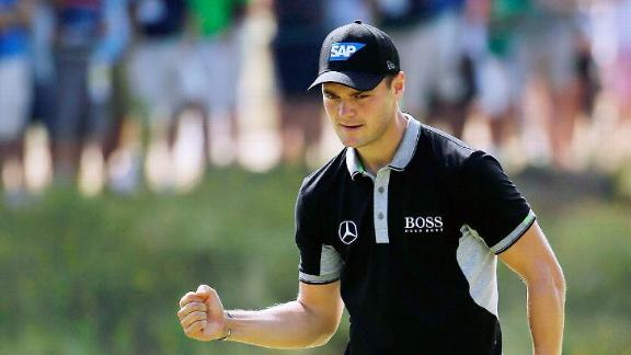 Kaymer Running Away At U.S. Open