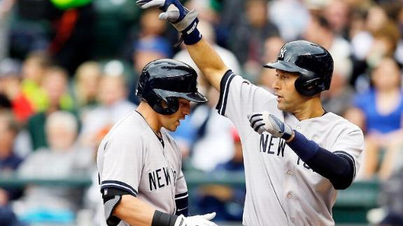 Jeter's big night caps Yankees' sweep of M's