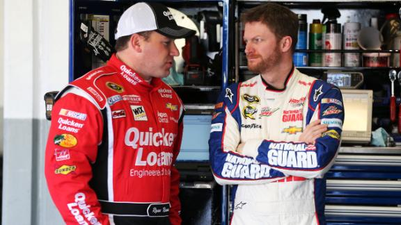 Dale Jr. Leaves Newman At The Airport