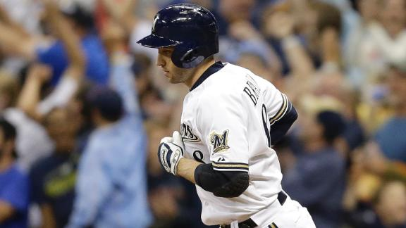 Braun's HR lifts Brewers, spoils Latos' debut