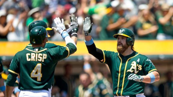 Norris, Crisp help A's pound Yankees