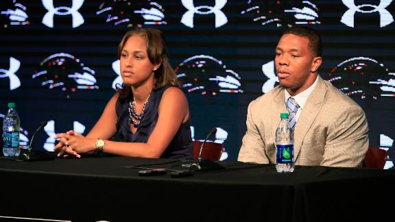 Reports: Ray Rice And Wife Meet With Goodell