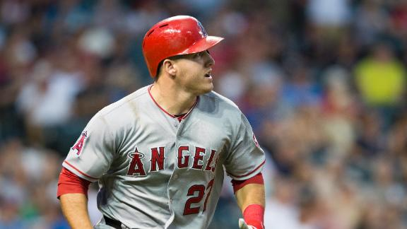Video - Trout's Big Bat Powers Angels
