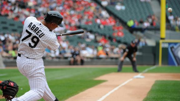 Abreu joins elite company with 20th homer