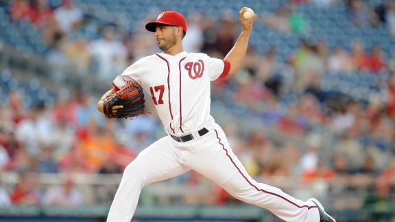 Nats rally in Gonzalez return, sweep Astros