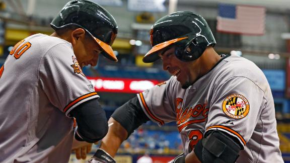 Video - Orioles Blank Rays