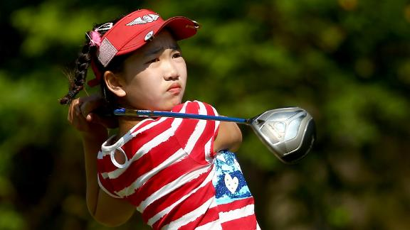 Li, 11,  Cards 78 At U.S. Women's Open