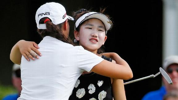 Li Misses Cut As Wie Grabs Lead