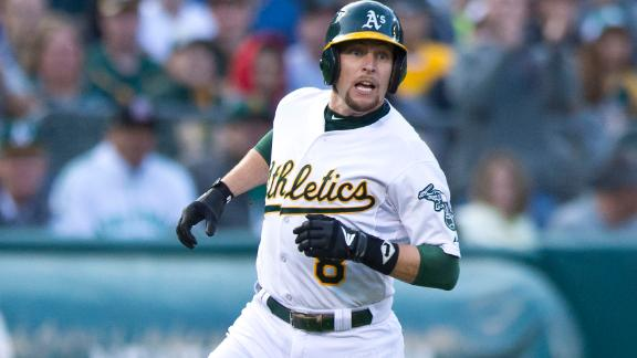 Kazmir, Cespedes carry A's past Red Sox