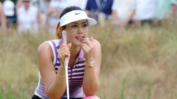 Wie Holds Share Of Lead At U.S. Women's Open