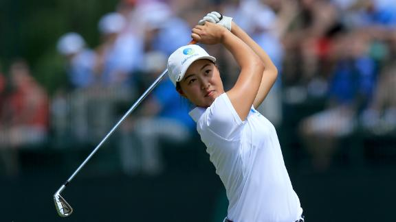Amateur Minjee Lee In Contention At U.S. Women's Open