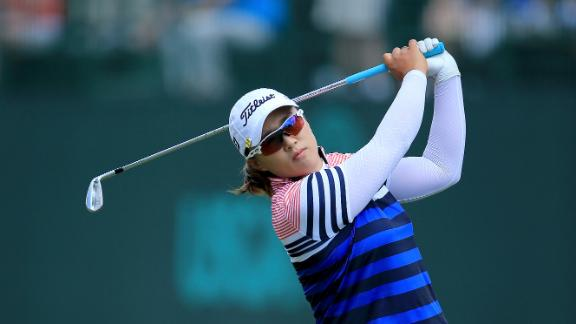Yang Ties For Lead At U.S. Women's Open