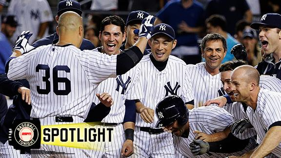 Yankees Walk Off Against Orioles