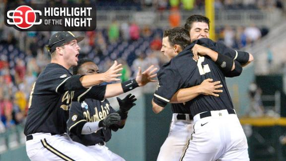 Vanderbilt Walks Off, Books Ticket To College World Series