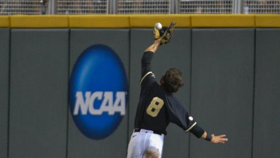 Wiseman's Catch, Hit Help Vandy Reach CWS Finals