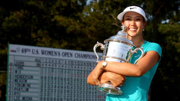 Wie Captures First Major Title