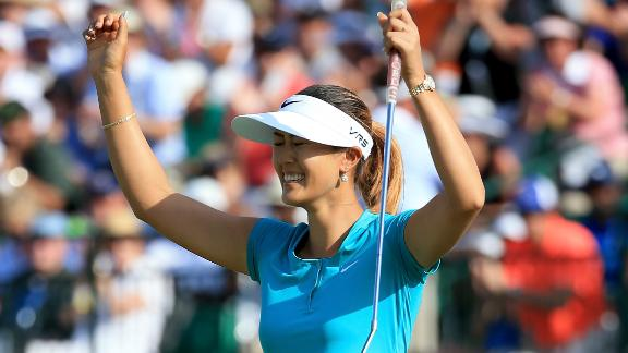 Michelle Wie Wins U.S. Open