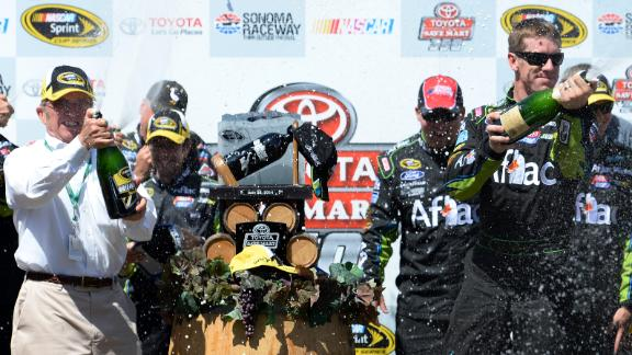 Carl Edwards Wins At Sonoma