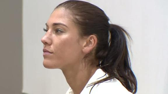 Hope Solo Enters Not Guilty Plea