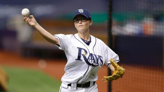 Teen Pitching Phenom Throws BP To Rays