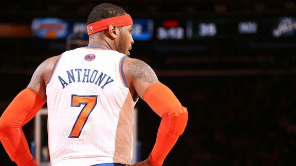 Carmelo Plans To Become Free Agent