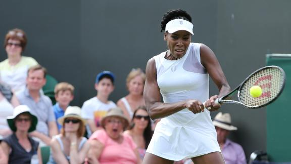 Venus Into Second Round At Wimbledon