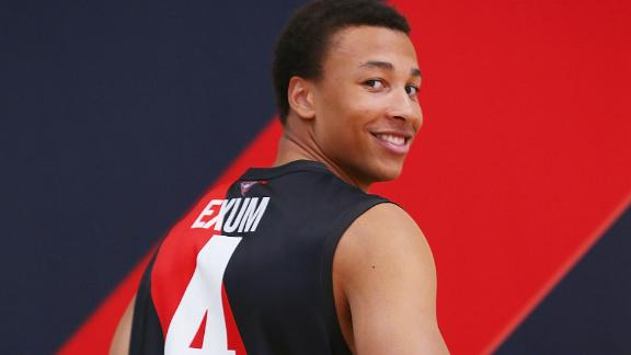 NBA Draft Through Years: Dante Exum