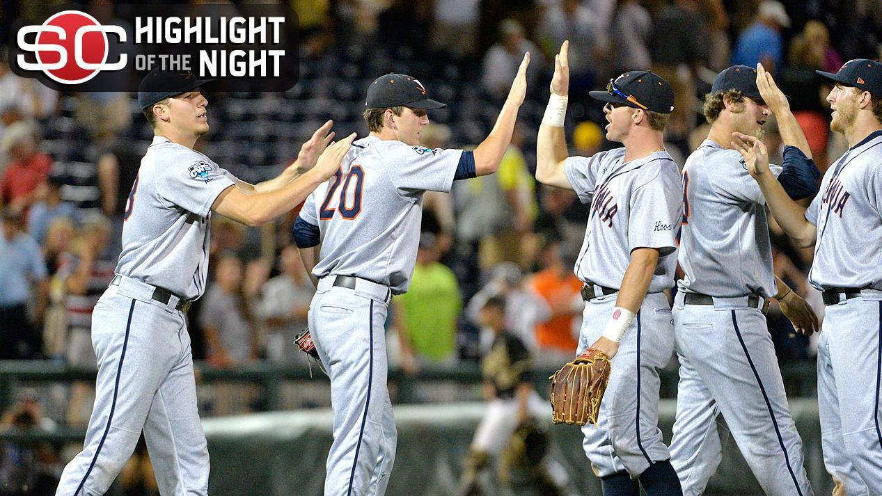Virginia Wins, Forces CWS Game 3