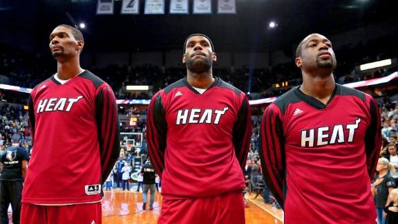 Miami's Big Three Get Together, Discuss Future
