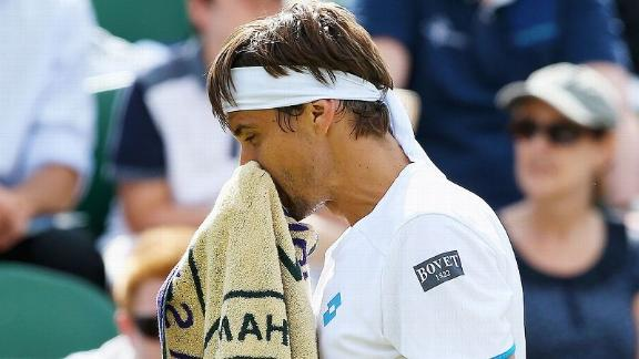 Ferrer Ousted At Wimbledon