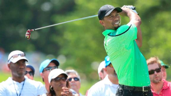 Tiger Struggles In Return