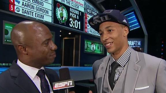 Jazz Draft Exum No. 5