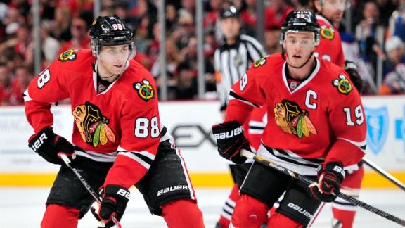 GM not worried over price for Kane, Toews